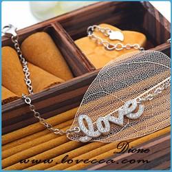 Glamourous Womens 925 Sterling Silver Designer Love Bracelets