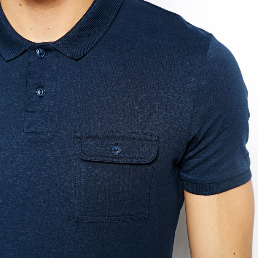Pocket polo shirt design jersey fabric bulk pima cotton for Order company polo shirts