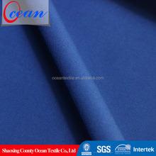 Roupa por atacado azul royal cetim spandex do algodão sarja tecido