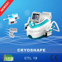 2 in 1 cryotherapy lipolaser body shape / cryolipo body slimming / lipo freezing cellulite