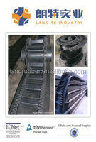 Corrugated Sidewall Conveyor Belt High Angel Lifting Conveyor Belt