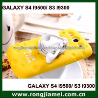 Unique cell phone accessory for Samsung GALAXY S3/S4. cell phone case. cheese case