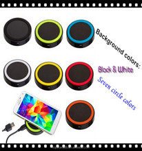 Trending Universal Qi Samsung wireless charger with USB port and USB Cable on discount