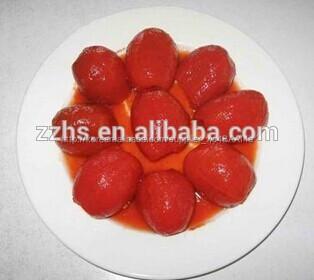 통조림 체리 토마토 인스턴트 식품 보존 채식