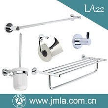 Factory supplied wall mounted brass bathroom accessories