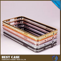 bling metal bumper case for samsung galaxy note 3, free sample
