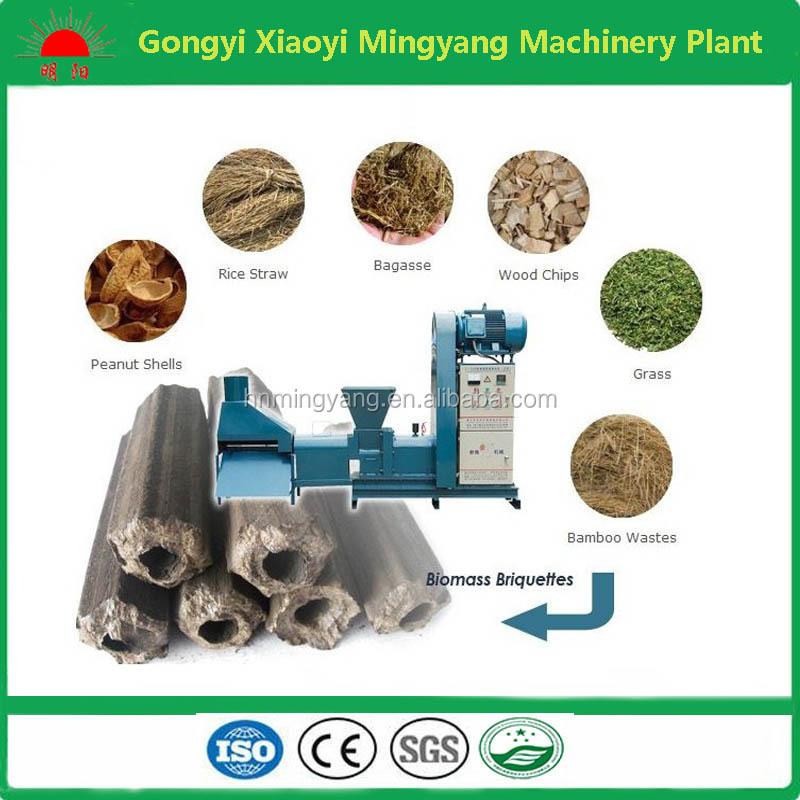 Output 300kg h capacity screw type biomass waste sawdust briquette pressing m - Tous types ou tout type ...