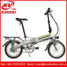 2015 KAVAKI Attractive Design Durable Modeling Superior Performance Folding Bicycle Folding Electric Bike