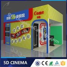 Real Feeling Theme Park 3D Glasses 5D Cinema House