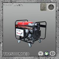 12kw 220v 380v 400v 3 phase permanent magnet diesel generator for tractor pto