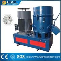 Plastic film agglomerator/granulator/recycling machine