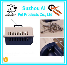 Plastic Airline Approved Travel Carrier Pet Crate Plastic Pet Carrier