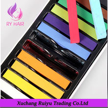 China supplier various color beautiful colorful hair dye chalk in stock