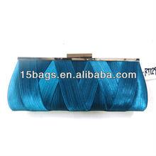 2013 Fashion newest wholesale satin night clutch bag