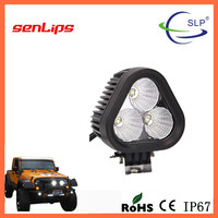 30W Triangle LED Worklight spot flood beam voltage 10-30 led worklight for suv truck offroad all cars