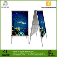 Double side A1 aluminum poster stand A board