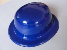 pvc metal colour round hat