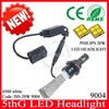 For toyota noah 9004 socket led headlight, new car fanless headlight 6500k white