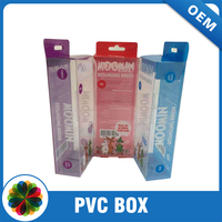display mobile phone shell packing pvc box with window