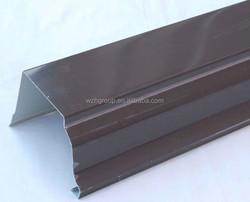 color roof corner / steel ridge / roof ridge for ppgi steel sheet