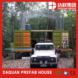 China modern design 40ft movable container temporary home villa houses for sale