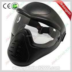 Black Military Full Face Goggles Anti Fog Paintball Mask with Single Lens