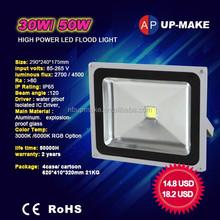 led outdoor flood light 30w 50w 80w 100w
