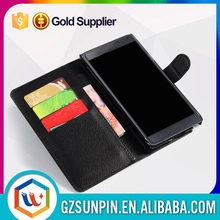 Flip wallet leather phone waterproof case for samsung galaxy note 4