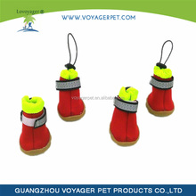 Lovoyager 2015 hot sale big American style silicone pet boots with custom desgin