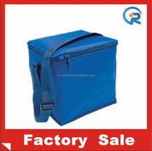 Adjustable starp waterproof 600D material with aluminium foil epe foam insulation bag for lunch