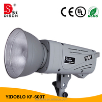 High speed KF-600T remote control flashing lights for studio phorography