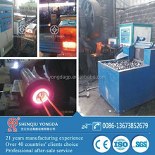 Steel/iron/copper rod forging induction heater