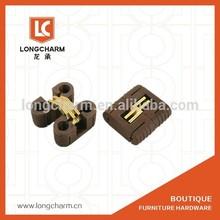 bisagras de plástico pequeñas ocultaban bisagras para puertas de madera de Hardware de Guangzhou