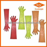 5g-10g Long Sleeve Veterinary Gloves for Disposable Use