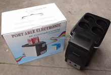 Cooler Car Electric Fridge Portable Auto 12v Travel Food Heater Refrigerator 6L