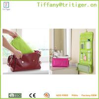 Aliexpress Nylon Hanging toiletry Travel Bag Wash Makeup Cosmetic Bag Organizer