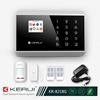 New Design operated by android and iOS GSM APP Built-in Antenna And Touch Screen Wireless Alarm System (KR-8218G)