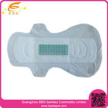 feminine hygiene products sanitary napkin with negative ion
