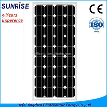 High quality Mono 80W solar panel of factory direct sale made in China