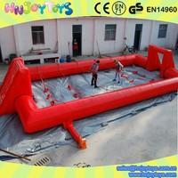 Human Football Adult Play Inflatable Panna Soccer Arena
