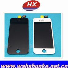 Alibaba express! Black Original LCD Display Full Complete+Touch Digitizer For iPhone 5s LCD SCREEN Without Home Button, Camera
