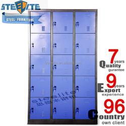 Nursery School Furniture Organizer Orchid Steel 15 Doors Nursery Locker