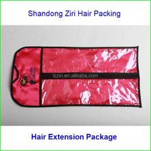 Custom made cheveux sacs / sacs pour les extensions de cheveux / sac spécial emballage conception entreprises en chine