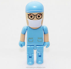 Novelty Blue Doctor series gift USB 2.0 16GB flash drive memory stick pendrive