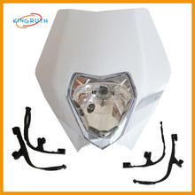 New style high quality motor head light fit atv motorcycle chinese made