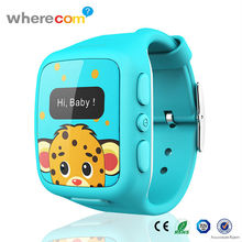 Hot Christmas Product Wrist Watch GPS Tracking Device Panic Button Watch GPS Tracker From China Brand Watch Factory