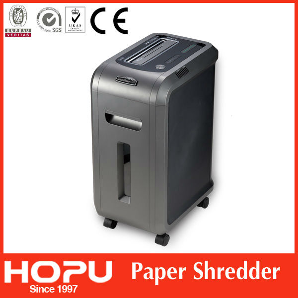 paper shredder staples Shreds up to 10 sheets at once shreds 65 feet of paper or 71 letter-size sheets per minute spacious 55 gallon bag-ready bin pulls out for easy emptying.