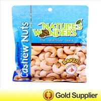 custom printed plastic bag for nuts food from China
