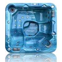 China alibaba Perfect acrylic outdoor bath tub A520with Pump/LED light