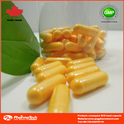 China supplier coenzyme q10 softgel 500mg